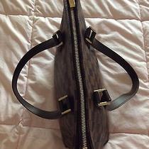Auth Louis Vuitton Damier Cabas Piano Shoulder Bag Tote Bag N51187 10062522 Photo