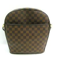 Auth Louis Vuitton Damier Canvas Ipanema Gm Shoulder Bag Crossbody Photo