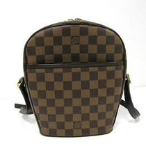 Auth Louis Vuitton Damier Canvas Ipanema Pm Shoulder Bag Photo