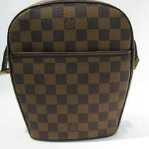 Auth Louis Vuitton Damier Canvas Ipanema Pm Shoulder Bag Crossbody Photo
