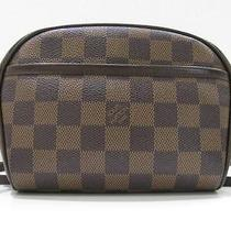 Auth Louis Vuitton Damier Canvas Ipanema Shoulder Bag Crossbody Photo
