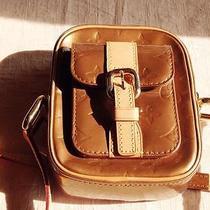 Auth Louis Vuitton  Gold Vernis Christie Pm Messenger Great 14566 Photo