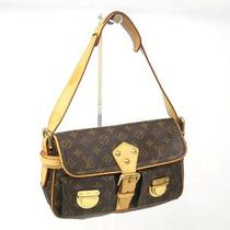 Auth Louis Vuitton Hudson Shoulder Bag Monogram M40027  (Bf041211) Photo