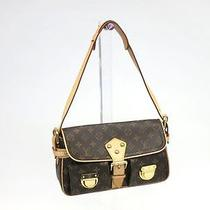 Auth Louis Vuitton Hudson Shoulder Bag Monogram M40027(bf042660) Photo