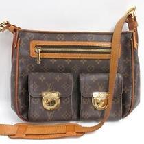 Auth Louis Vuitton Monogram Canvas Hudson Gm Shoulder Bag Photo