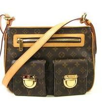 Auth Louis Vuitton Monogram Canvas Hudson Gm Shoulder Bag Crossbody Photo