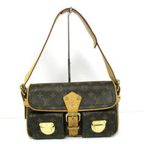 Auth Louis Vuitton Monogram Canvas Hudson Shoulder Bag Photo