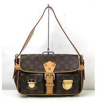 Auth Louis Vuitton Monogram Canvas Hudson Shoulder Bag Handbag Photo