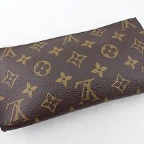 Auth Louis Vuitton Monogram Classic Handbag Rare Ar0947 Rare Photo