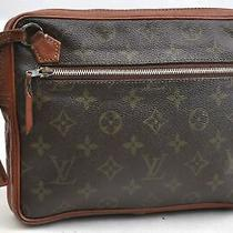 Auth Louis Vuitton Monogram Pochette Sport Clutch Hand Bag Old Model Lv 99274 Photo