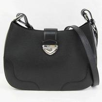 Auth Louis Vuitton Musette Bagatelle Epi Line Black M40252 102122 Photo