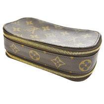 Auth Louis Vuitton Trousse Blush Pm Cosmetic Bag Pouch Monogram M47510 Ts10825 Photo