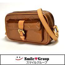 Auth Louis Vuitton Vernis Christie Mm M91109 Shoulder Bag Bronze  Photo