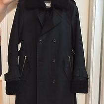 Auth Mackage Military Trench Coat W/removable Lining 38 Medium Photo