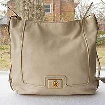 Auth Marc by Marc Jacobs Purse Revolution Leather Hobo Bag Turnlock Detail New Photo
