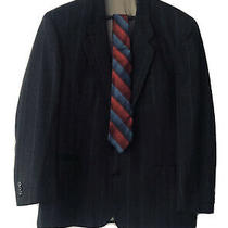 Auth Mens Givenchy Two Button Blazer Coat Jacket Size 44r  Tie (Free Shipping) Photo