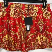 Auth Mens Versace Silk Baroque Boxer Shorts Underwear Size 6  600 Photo