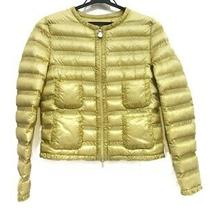 Auth Moncler Lissy 45306-94-53048 Yellow Womens Down Jacket  0 Photo