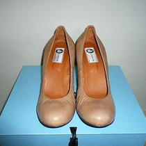 Auth Nib Lanvin Wedges Size 41 1/2 Usa 9 1/2 Photo