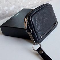 Auth Nwb Alexander Wang Fumo Wristlet Clutch Bag Iphone/cell Phone Case Leather Photo