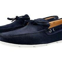 Auth Prada Boat Shoes Slipper Loafer 2dd100 Navy Blue New Us 8 Eu 41 415 Photo