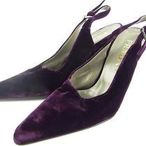 Auth Prada Platform Velor Sandals Shoes Size 37 1/2 Us 6 1/2-7 Unused 13043eqab Photo
