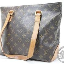 Auth Pre-Owned Louis Vuitton Monogram Cabas Piano Hand Tote Bag M51148 1502084 Photo