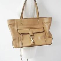 Auth Rebecca Minkoff Leather Gold/tan 'Bowery' Tote 375 Photo