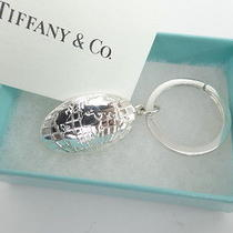 Auth Tiffany & Co. Key Holder Chain Northwest Air. Sterling Silver 05110315700 2 Photo