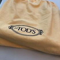 Auth Tod's D-Bag Tote Beautiful Black Leather Handbag Photo