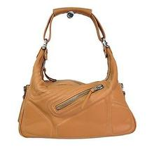 Auth Tods Shoulder Bag Mickey Leather Camel (Bf080006) Photo