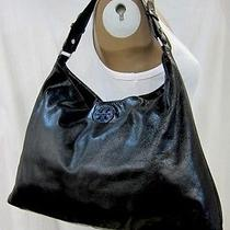 Auth Tory Burch Dena Leather Hobo  Photo