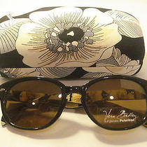 Auth Vera Bradley Sunglasses Claudette Camilla (Brown) Polarized  Case Photo