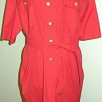 Auth Vintage Celine Shirt Dress Bright Dress Made in France Photo