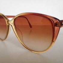 Auth Vintage  Christian Dior 2455 Vintage Sunglasses Oversize  Brown  Honey Photo