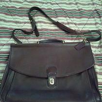 Auth Vintage Coach Briefcase Laptop Leather Bag Purse Messenger Brown Bag 5266 Photo