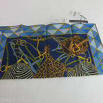 Auth Vintage Gucci Cotton Scarf Made in Italy Photo