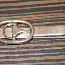Auth Vintage Gucci Sterling Silver Horsebit Equestrian
