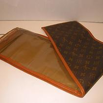 Auth Vintage Louis Vuitton French Company Fc Neck Tie / Scarf Travel Bag Case    Photo