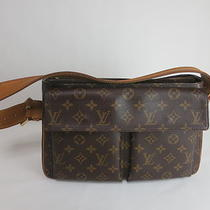 Auth Vintage  Louis Vuitton Monogram   Hudson Shoulder Bag Made in France Photo