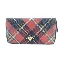 Auth Vivienne Westwood Exhibition Round Zipper Long Wallet (15001332) Photo