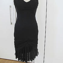 Auth. Yigal Azrouel Amazing Silk Chiffon Beaded Sexy Draped Dress Sz 1 Photo