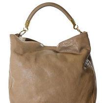 Auth Yves Saint Laurent Beige Leather Roady Hobo Handbag Photo