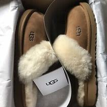 Authenic New Ugg Cozy Ii Slippers Youth Sz 6 ( Approx Womens 7 ) Chestnut Color Photo