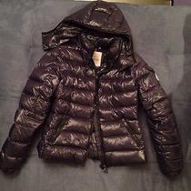 Authentic 995 Moncler Bady Lacquer Hood Jacket Short Puffer Down Coat Navy 0 Xs Photo