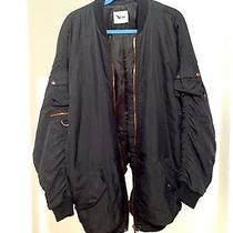 Authentic Acne Bomber Jacket Black Outwear  Photo