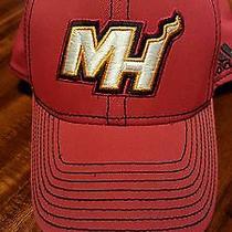 Authentic Adidas Miami Heat Hat Photo