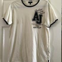 Authentic Aj Armani Jeans Mens Light Brown T-Shirt sz.l Photo