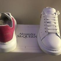 Authentic Alexander Mcqueen Sneakers White Lust Pink Sz 43 Us10 in Original Box. Photo