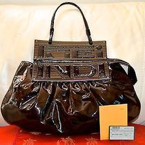 Authentic and Very Stylish Fendi Large Hand/over the Wrist Bag. Photo